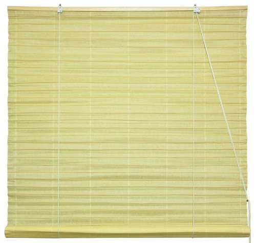 Shoji Paper Roll Up Window Blinds - Light Yellow - 36