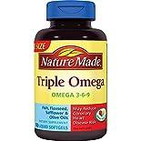 Nature Made Triple Omega, Liquid Softgels, 150 softgels