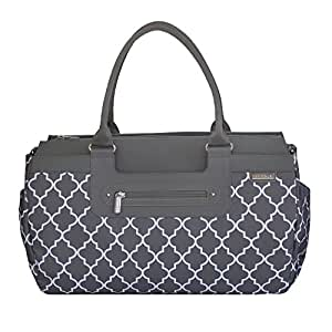 jj cole parker diaper bag stone arbor baby. Black Bedroom Furniture Sets. Home Design Ideas