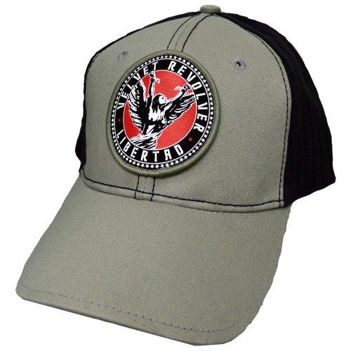 Velvet Revolver Baseball Cap: Circle Logo