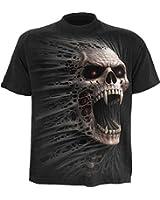 Spiral Cast Out T-shirt Noir