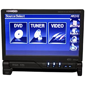 "Brand New Kenwood Kvt-516 7"" In-dash Single Din Touchscreen Receiver with Built in Cd/dvd Receiver"