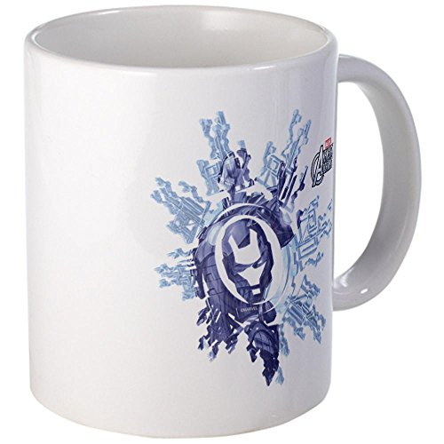 Cafepress Iron Man Flake Mug - S White