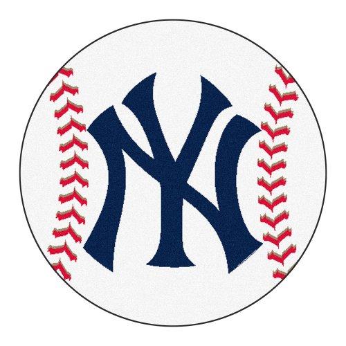 Baseball Rug: FANMATS MLB New York Yankees Nylon Face