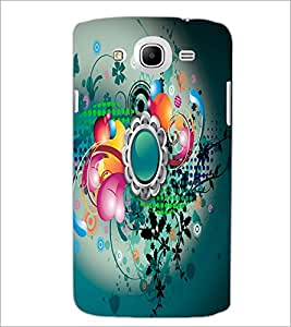 Printdhaba Digital Abstract D-2084 Back Case Cover For Samsung Galaxy Mega 5.8