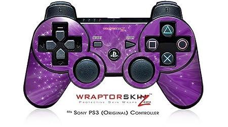 Sony PS3 Controller Skin - Stardust Purple