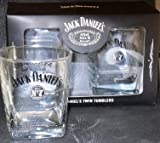 Pub Paraphernalia Jack Daniels Old No 7 Whisky Tumblers set of 2