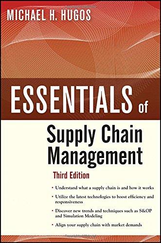 Essentials of Supply Chain Management,