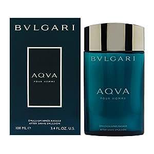 Bulgari Acqua pour Homme Aftershave Emulsion 100 ml Balsamo Emulsione Dopo Barba