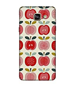 small candy 3D Printed Back Cover For Samsung Galaxy A5 2016 -Multicolor pattern
