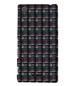 EPICCASE rivery flower Mobile Back Case Cover For Sony Xperia T3 (Designer Case)