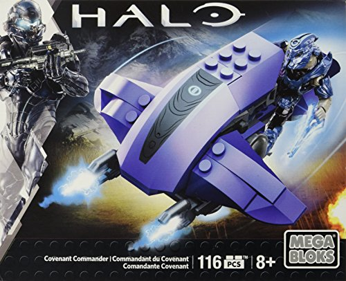Mega Bloks Halo Covenant Commander Building Set - 1
