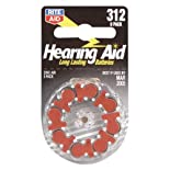 Rite Aid Home Batteries, Hearing Aid, Size 312, 8 ct