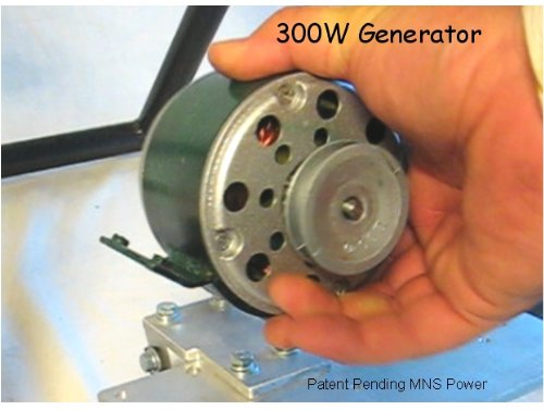 300 Watt Bicycle Generator 3/8