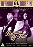 Deanna Durbin - Because Of Him [DVD] [1946]