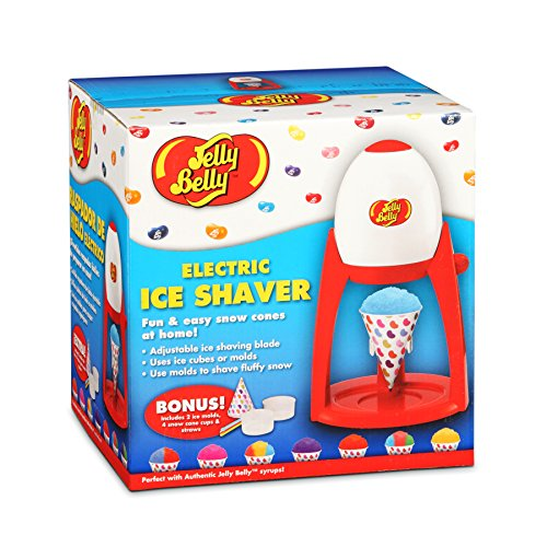 Jelly Belly Flavor Snow Ice Shaver, Red (Jelly Belly Electric Ice Shaver compare prices)