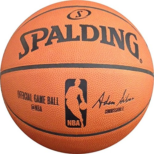"Spalding NBA Official Game Basketball (2015) - Official Size 7 (29.5"") by Spalding"