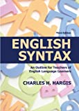 51m%2BFMKU8qL. SL160  English Syntax: An Outline for Teachers of English Language Learners