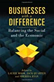 Businesses with a Difference: Balancing the Social and the Economic