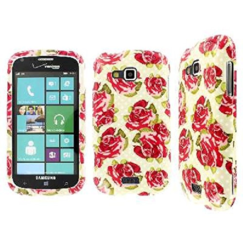 Click to buy Samsung ATIV ODYSSEY Case, EMPIRE Full Coverage Vintage Roses Red Case for Samsung ATIV Odyssey I930 - From only $28.99