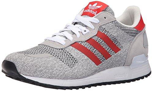Adidas Originals Men's ZX 700 IM Shoe,White/Red/Black,8 M US