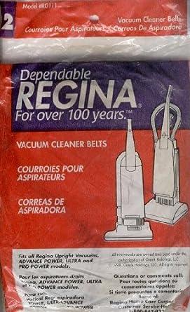 Regina Upright Vacuum Belts