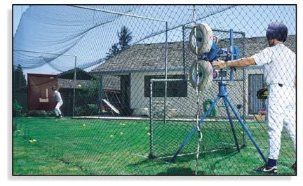 backyard batting cages backyard softball batting cage frame for 1500