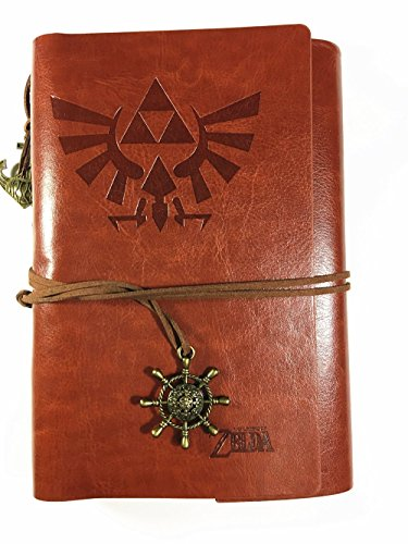 Legend of Zelda Leather Notebook / Diary