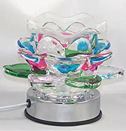 Lotus Flower Fragrance Lamp Oil Burner #066