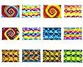 CA 60 Modelle Sarong Pareo Wickelrock Strandtuch Tuch Wickeltuch Handtuch Bunte Sommer Muster Set Gratis Schnalle Schließe Ca 170cm x 110cm