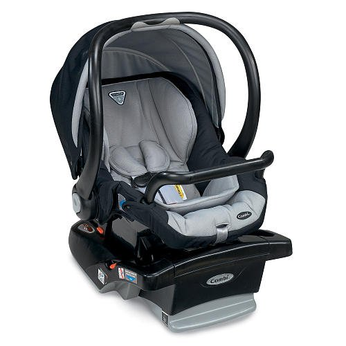 Combi Shuttle Infant Car Seat Black front-222173