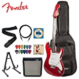 51m%2BO0qBI2L. SL160  Fender Starcaster Strat Electric Guitar, Amp and Accessories   Candy Apple Red