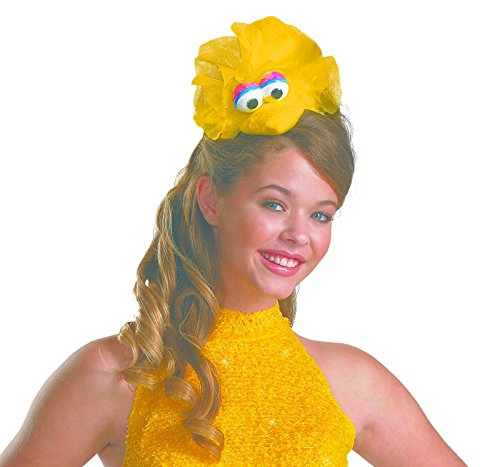 Disguise Women's Sesame Street Big Bird Adult Headband Costume Accessory