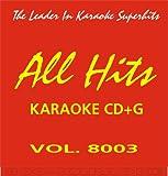 All Hits Karaoke CD+G #8003 Classic Rock Don Henley Glenn Frey Joe Walsh Green Day Led Zeppelin & More