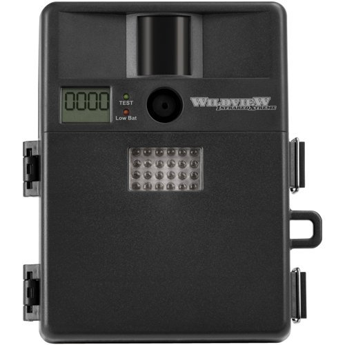 Wildview Infrared Digital Video Recorder with 24 IR Emitters, 32 MB Memory