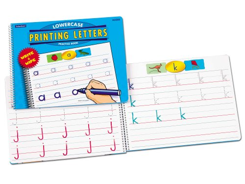 Printing Lowercase Letters Dry-Erase Book - 1