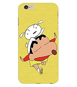 Fuson 3D Printed Cartoon Designer Back Case Cover for Apple iPhone 6 Plus - D1090