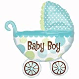 Amscan International Super Shape Baby Buggy Boy