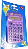 Disney Tinkerbell 8-Digit Electronic Calculator for Girls Back to School Calculator