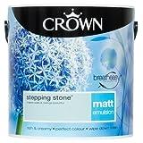 Crown Breatheasy Emulsion Paint - Matt - Stepping Stone - 2.5L