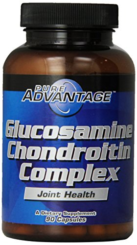 Pure Advantage Twin Pack Glucosamine/Chondroitin Capsules, 1500 Mg/1200 Mg, 180 Count