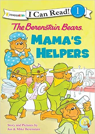 The Berenstain Bears: Mama's Helpers: Mama's Helpers (I Can Read! / Berenstain Bears / Good Deed Scouts / Living Lights)