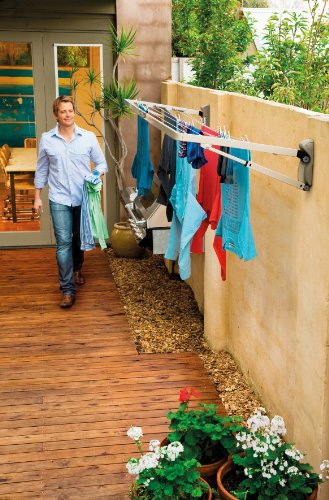 Hills Supa Fold Compact Folding Frame Washing Line - FREE DELIVERY