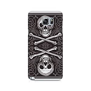 Mobicture Skull Abstract Premium Printed Case For Samsung Note 5