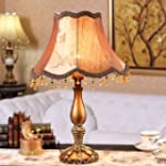 European resin table lamp bedside lam...