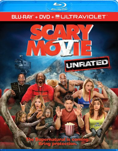 51m%2BjyWl5dL Scary Movie 5  (Unrated) (Blu ray + DVD + UltraViolet)