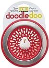Doodle Doo Rooster Novelty Kitchen Sink Strainer-Red