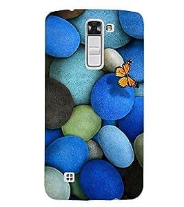 EPICCASE Butterfly on Pebble Mobile Back Case Cover For LG K10 (Designer Case)