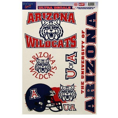 NCAA University of Arizona 02914014 Multi Use Decal, 11 x 17