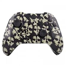 buy Mod Freakz Xbox One Controller Shell/Buttons Hydro Dipped Grey Ghosts (No 3.5 Port)